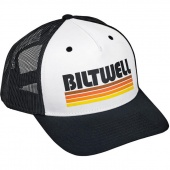 Кепка Biltwell Inc. - SURF SNAP BACK - BLACK/WHITE/ORANGE - белая с полосами - 8002-1006-00 8002-1006-00 Biltwell Inc.