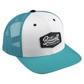 Кепка Biltwell Inc. - Parts Snap Back - Teal/White/Black - бело-голубая с лого - 8002-2015-00 8002-2015-00 Biltwell Inc.