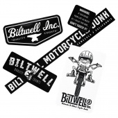Biltwell Inc. - Наклейки GREMMIE STICKER PACK - (STK-KIT-B-BWT) STK-KIT-B-BWT Biltwell Inc.