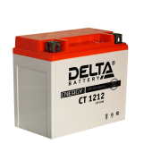 Аккумуляторная батарея DELTA battery CT 1212 (YTX14-BS, YTX12-BS) CT 1212 DELTA battery