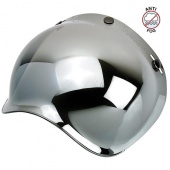 Визор Biltwell Bubble зеркальный BS-CHR-AF-SD (0131-0115) Chrome mirror anti-fog 2001-221 2001-221 Biltwell Inc.