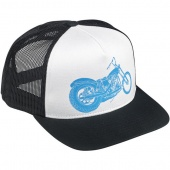 Кепка Biltwell Inc. SWINGARM TRUCKER HAT - BLACK/WHITE HAT-SWING-TRK-BWT HAT-SWING-TRK-BWT Biltwell Inc.