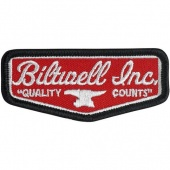 "Нашивка Biltwell Inc. - красная - Shield Patch 3"" - Red/Grey/Black  - PAT-SLDRG-RGB PAT-SLDRG-RGB Biltwell Inc."