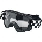 Biltwell inc. - Маска MOTO 2.0 Goggle - Checkers Black -черно белая шашка - 2101-5101-014 (2601-2251)  2101-5101-014 Biltwell Inc.
