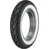 MT90 B16 (130/90 B16) 74 H TL D402 Wide WhiteWall Rear Harley-Davidson Dunlop 43119-92A 3019-91 Dunlop
