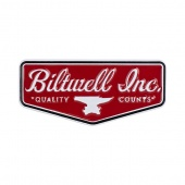 Значок Biltwell Inc. в виде логотипа - ENAMEL PIN SHIELD - RED/WHITE - 8602-11 8602-11 Biltwell Inc.