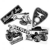 Biltwell Inc. - Наклейки GIANT STICKER PACK - (STK-KIT-GNT-BWT) STK-KIT-GNT-BWT Biltwell Inc.