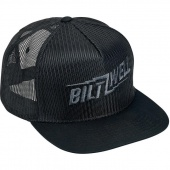 Кепка Biltwell Inc. - BOLTS SNAP BACK - BLACK - черная сетка - 8002-4003-00 8002-4003-00 Biltwell Inc.