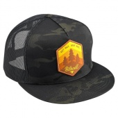 Кепка Biltwell Inc. - камуфляжная c лого три культеры - Get Out Snap Back - Black Camo 8002-5020-00 8002-5020-00 Biltwell Inc.