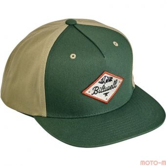 Кепка Biltwell Inc. - ROCKY MOUNTAIN SNAP BACK - GREEN/BEIGE - серо-зеленая - 8002-2009-00 8002-2009-00 Biltwell Inc.