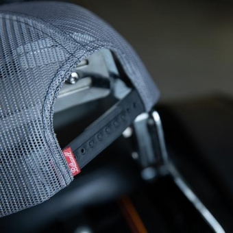 Кепка Biltwell Inc. - черная с лого череп - Skully Snap Back - Grey/Black 8002-4016-00 8002-4016-00 Biltwell Inc.