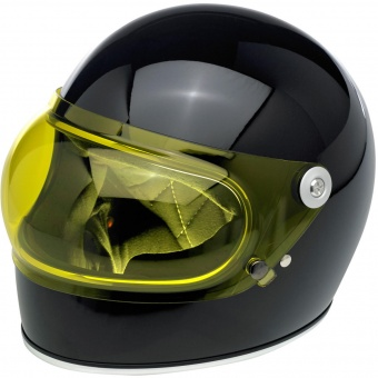 Визор Biltwell Gringo S Anti-Fog Bubble Shield - Yellow - желтый пузырь - BA-YEL-GS-SD (0131-0099) 0131-0099 Biltwell Inc.
