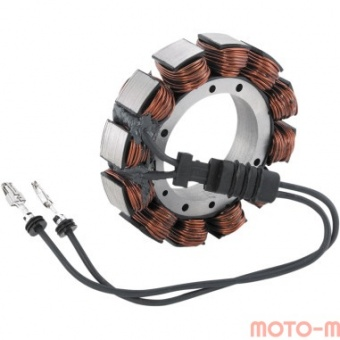 2112-0160 Статор генератора Cycle Electric Inc для Harley-Davidson 02-05 FLT (45A) аналог 29987-02 2112-0160 Cycle Electric Inc