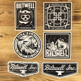 Biltwell Inc. - Наклейки VNM STICKER PACK - (STK-KIT-VNM-BWT) STK-KIT-VNM-BWT Biltwell Inc.