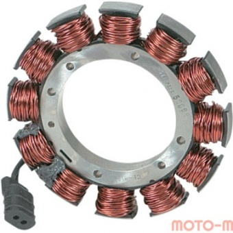 2112-0155 Статор генератора Cycle Electric Inc для Harley-Davidson 84-88 Big Twin (22A) аналог 29965-81A 2112-0155 Cycle Electric Inc