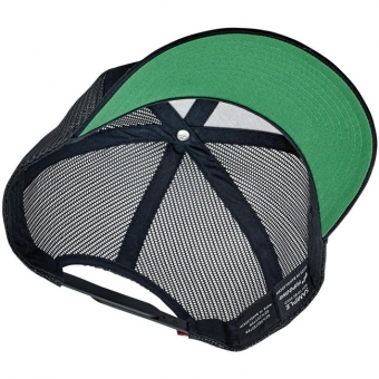 Кепка Biltwell Inc. - SHIELD SNAP BACK - BLACK/GREEN - черная с большим лого - 8002-2007-00 8002-2007-00 Biltwell Inc.