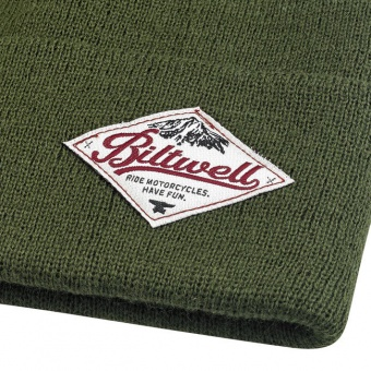 Шапка Biltwell Inc. - CAMPER BEANIE - оливковая - 8001-5001-00 (BEN-CAMP-OLV) 8001-5001-00 Biltwell Inc.