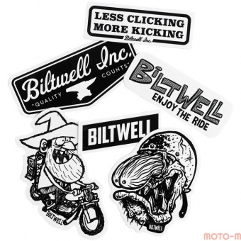 Biltwell Inc. - Наклейки FARTCO STICKER PACK - (STK-KIT-FRT-BWT) STK-KIT-FRT-BWT Biltwell Inc.